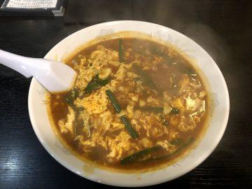 辛麺屋 桝元のカレ麺