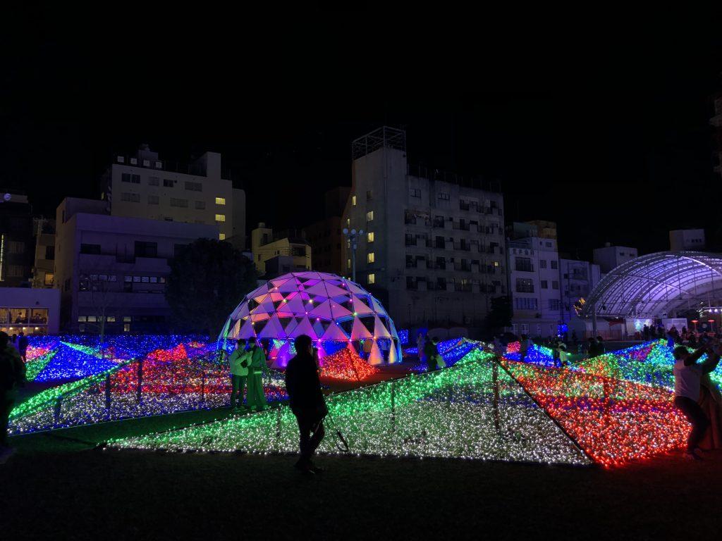イルミネーション 鹿児島天文館公園