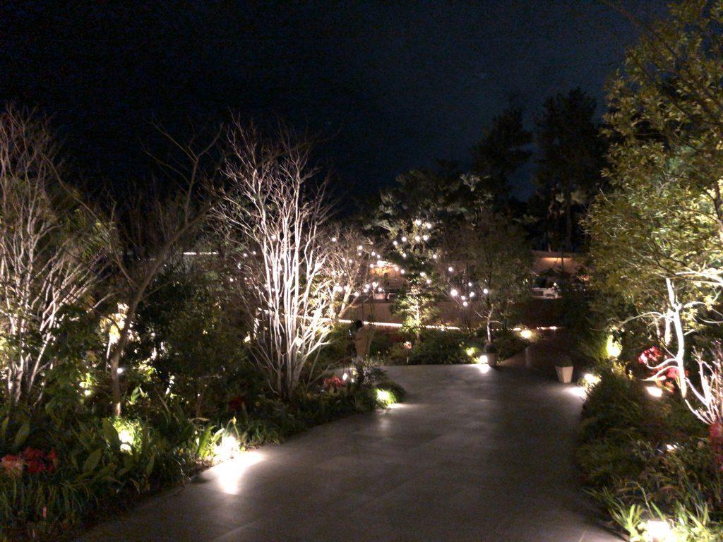 リビングガーデン ライトアップ シェラトン・グランデ・オーシャンリゾート