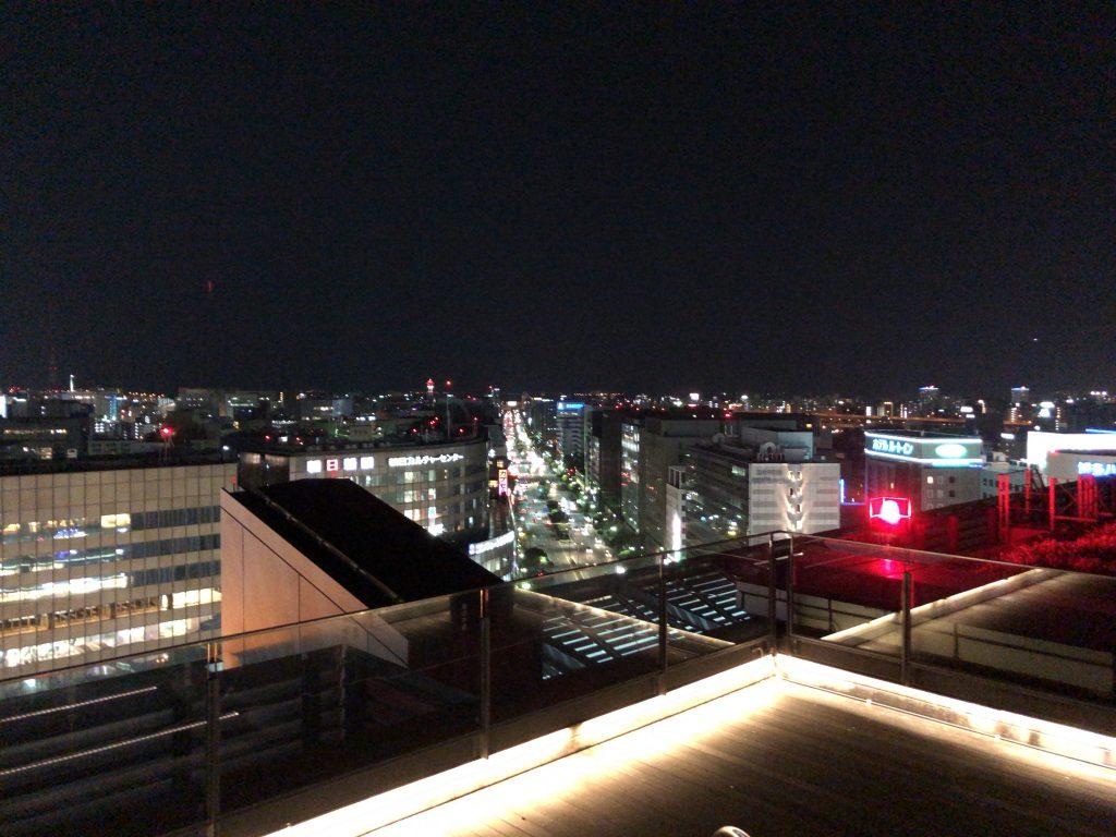 つばめの杜ひろば夜景 福岡県福岡市