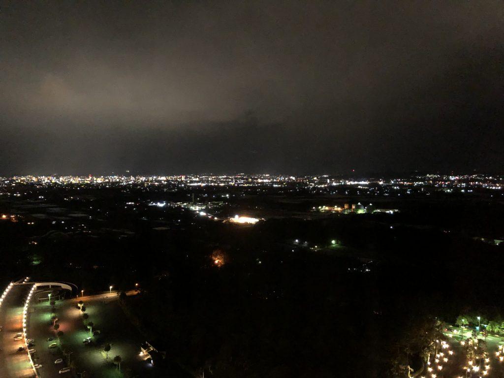 コーナースイート夜景 シェラトン・グランデ・オーシャンリゾート