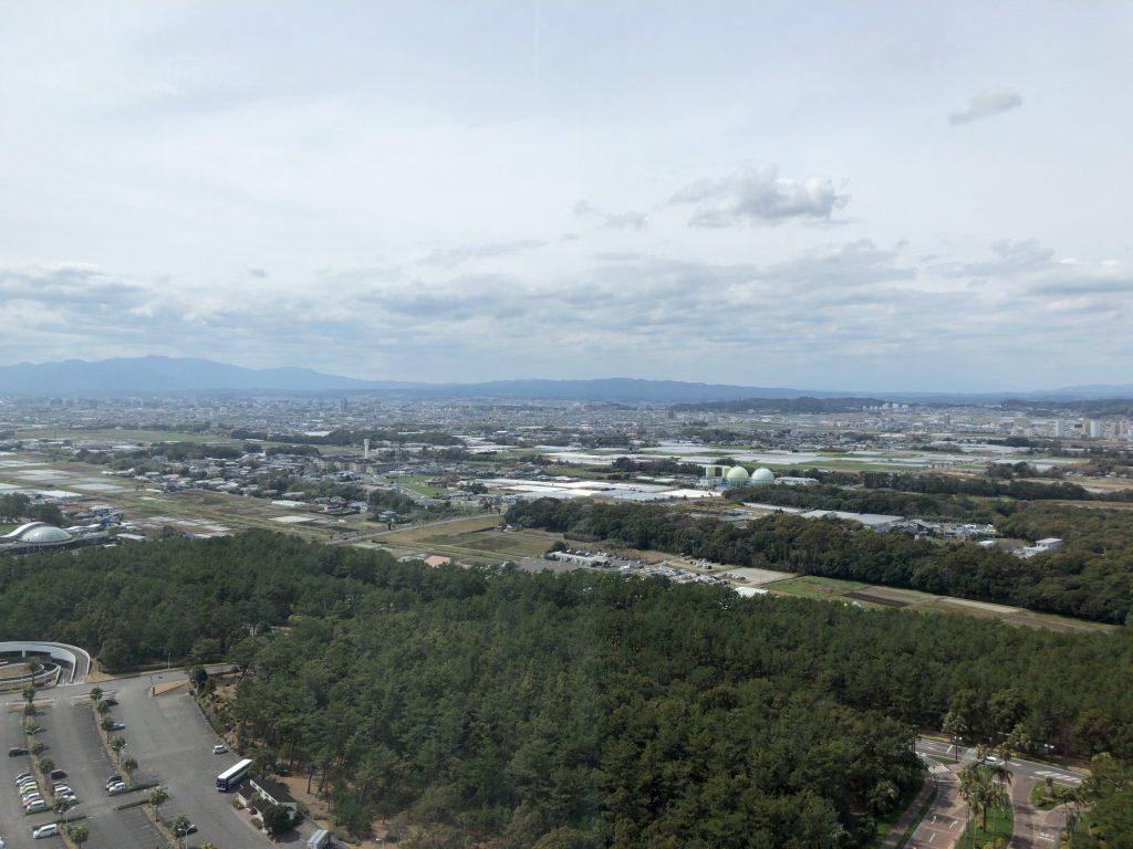 コーナースイート眺め シェラトン・グランデ・オーシャンリゾート