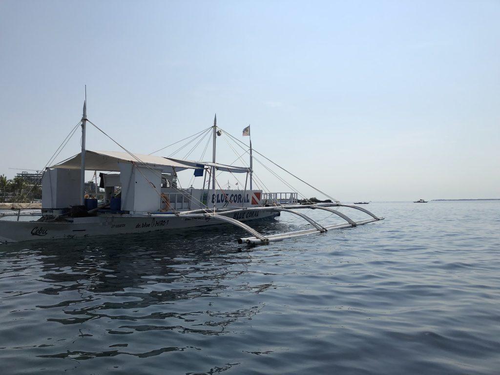 バンカーボート セブ アイランドホッピング
