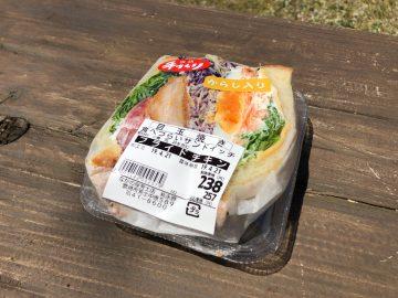 食べづらいサンドイッチ ナガノヤ・ウメコウジ