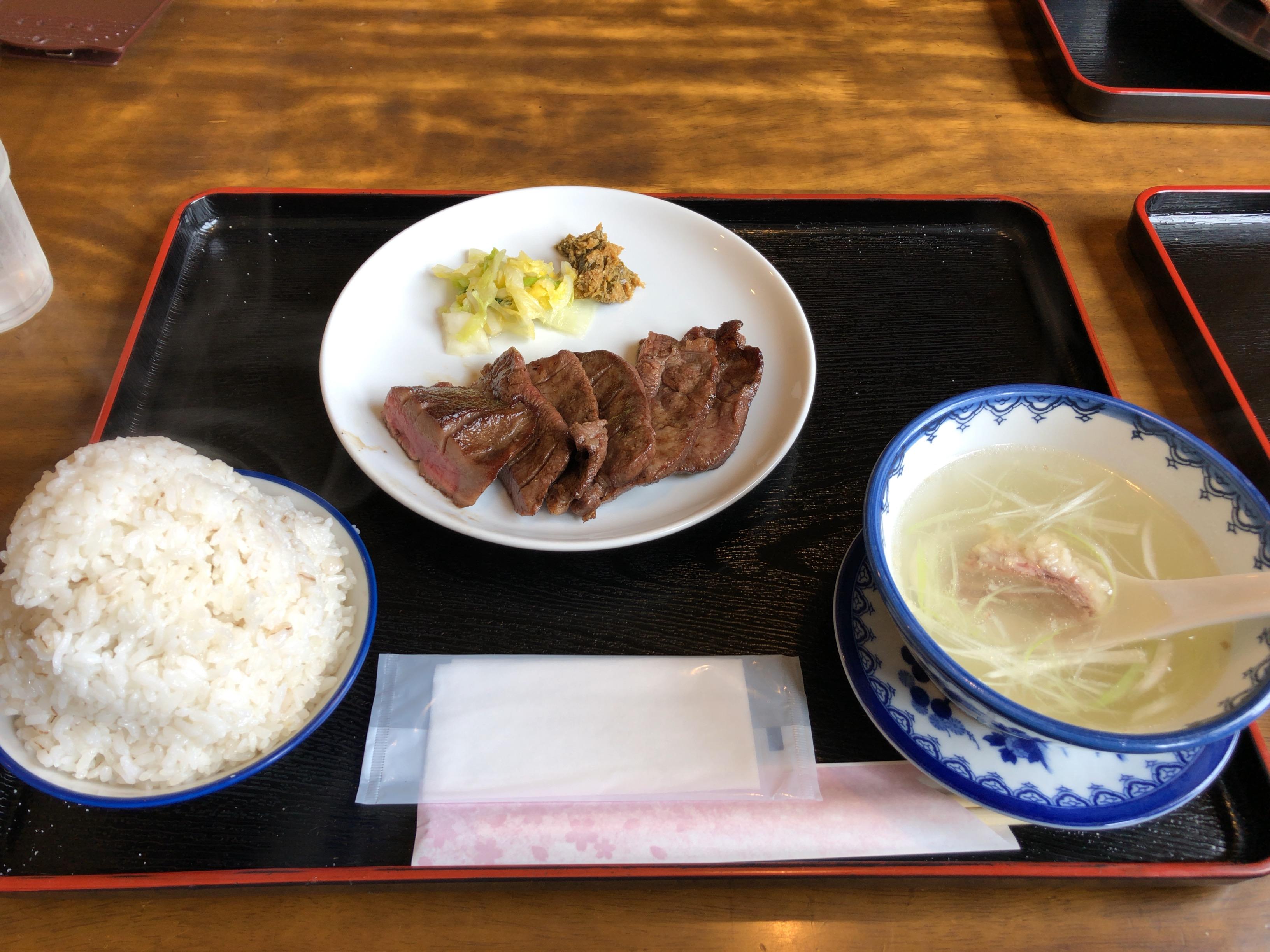 牛タン焼き定食 福太助