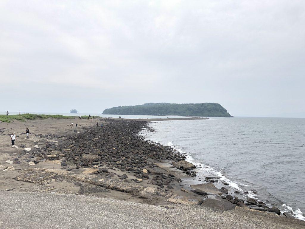 知林ヶ島 指宿市