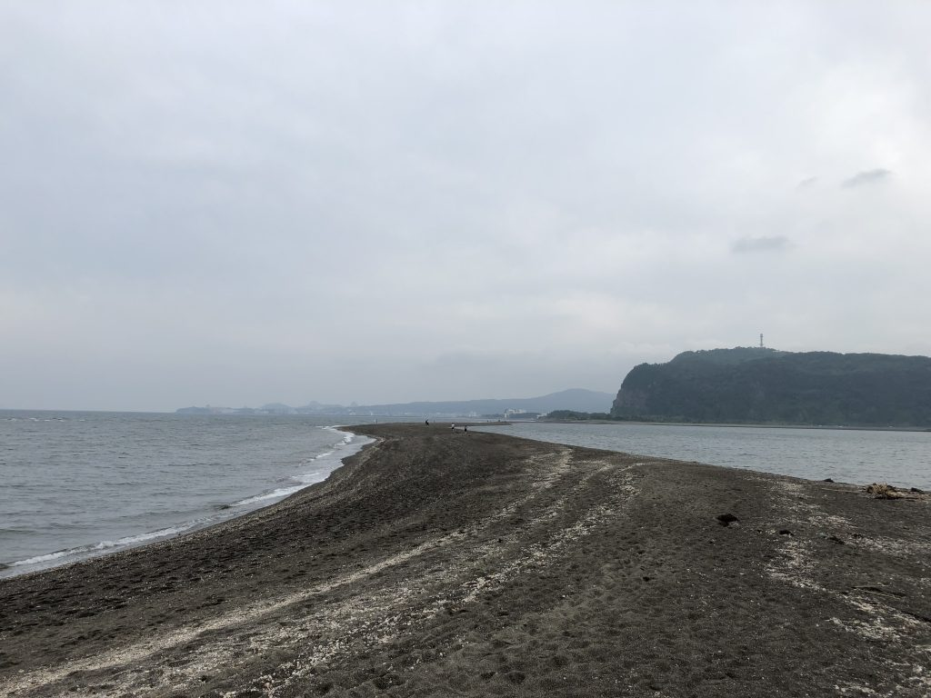 知林ヶ島 島から本土側