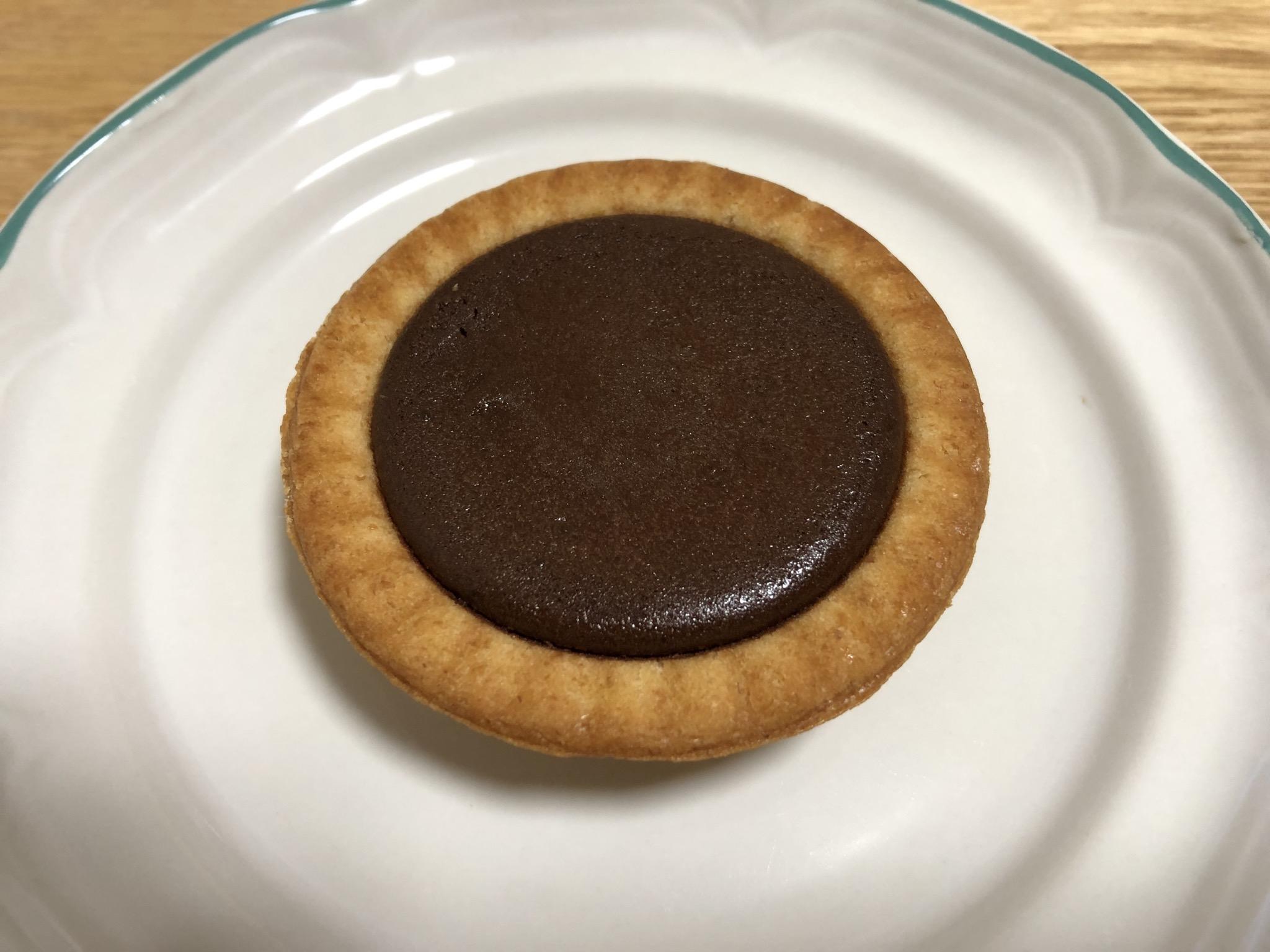 ファミマ 全粒粉のチョコタルト