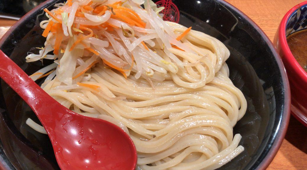野菜盛りつけ麺 三田製麺所