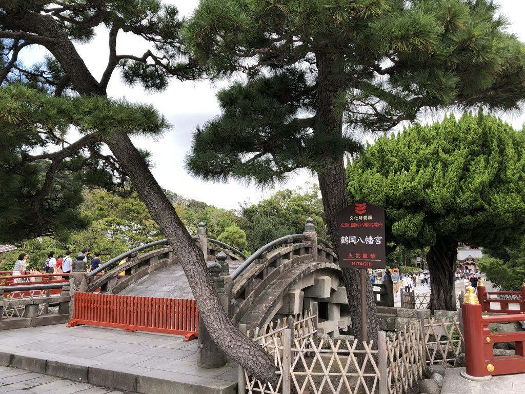 反り橋 鶴岡八幡宮 鎌倉