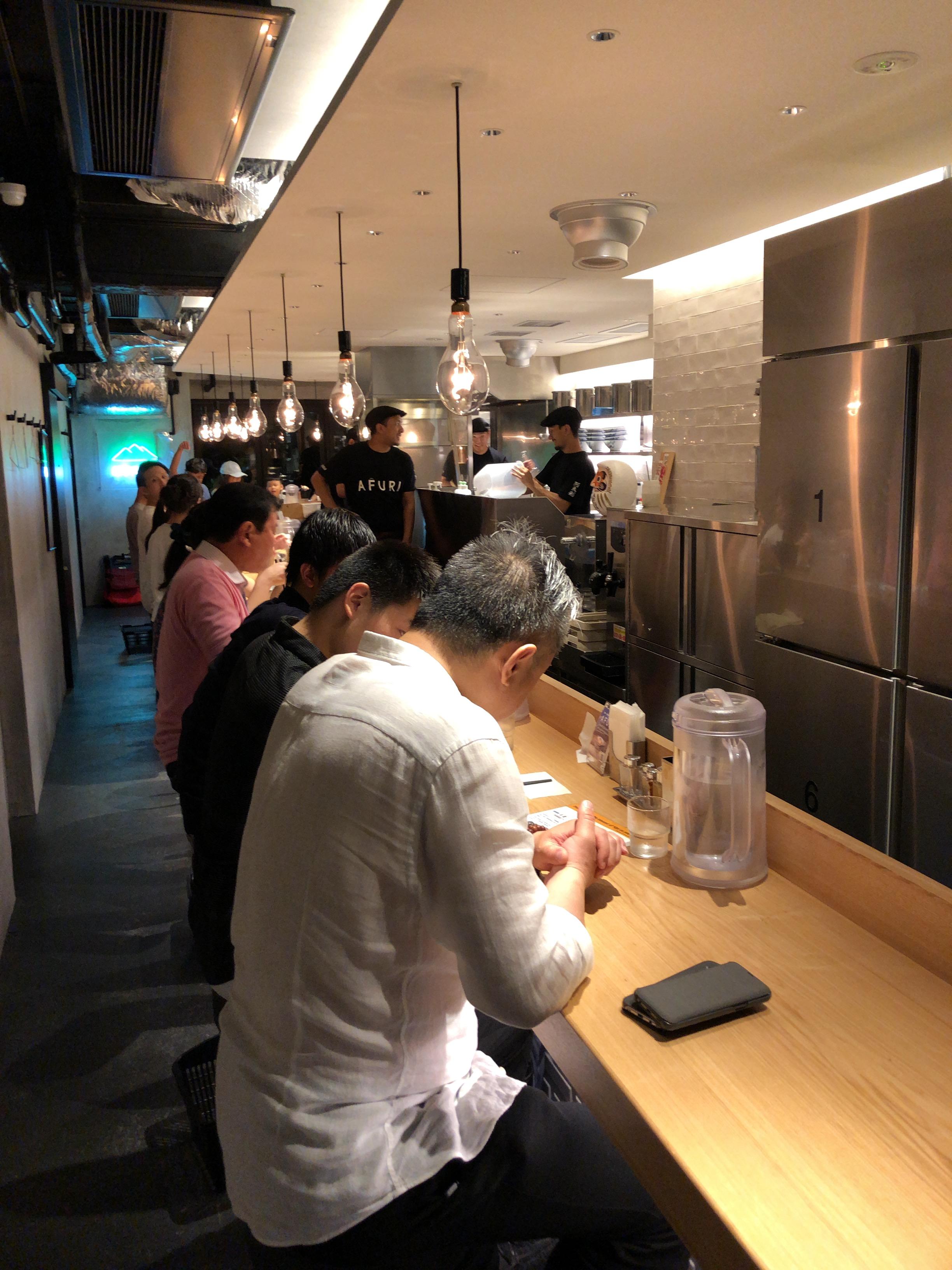 店内 AFURI 恵比寿店