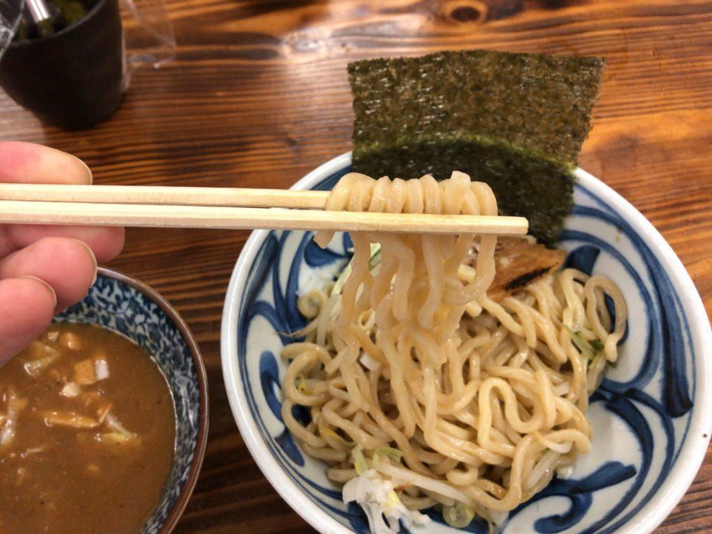 一六つけそば 太麺 麺魂(めんそうる)