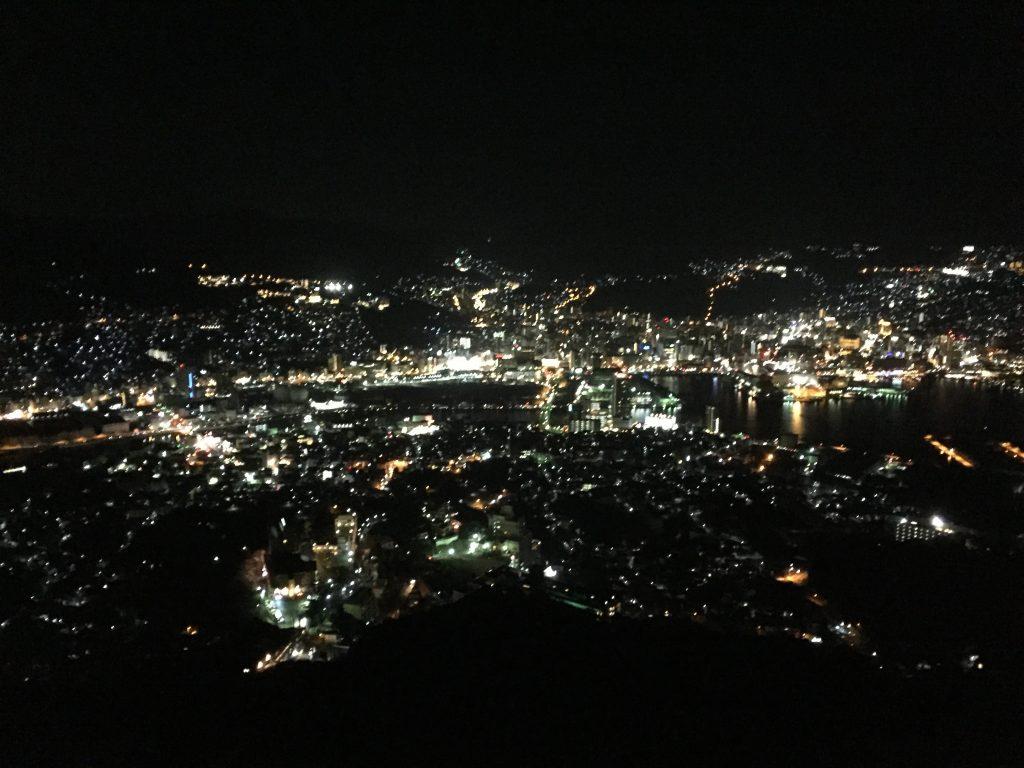 稲佐山の夜景 長崎県長崎市