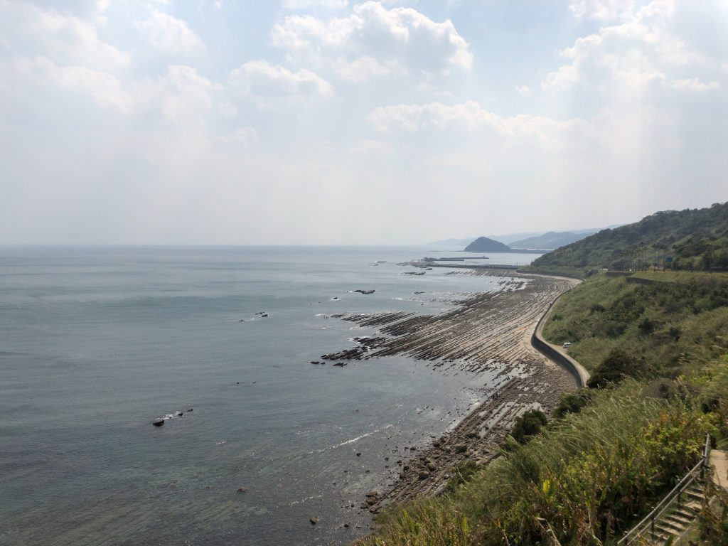 堀切峠 道の駅フェニックス前から撮影 宮崎県宮崎市