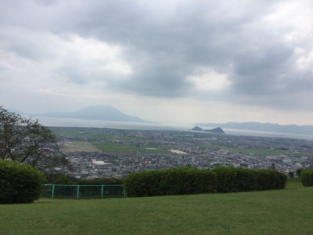 国分城山公園からの眺め 鹿児島県霧島市