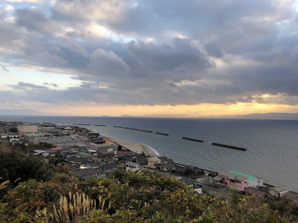展望所からの眺め 薩摩明治村