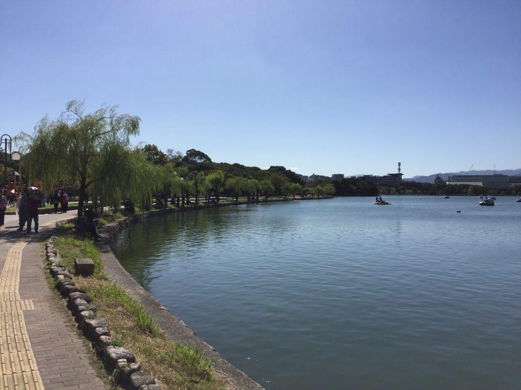 大濠公園 福岡